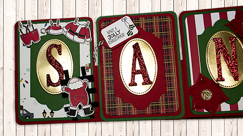 Holiday Inspiration 2017 by Karina Chin - Santa Banner