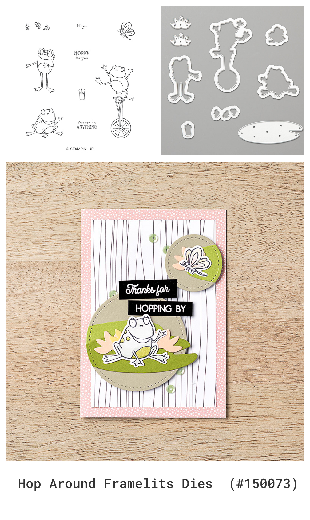 Stampin' Up! Sale-A-Bration Coordination Products