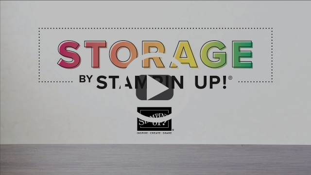 Storage by Stampin' Up! - New Products