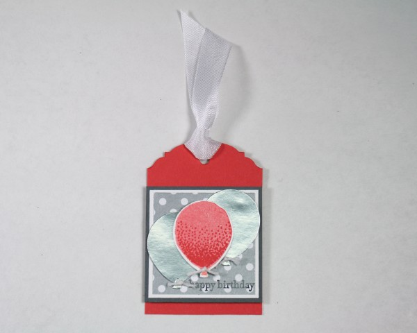 Stampin' Up! Card Candy Tag