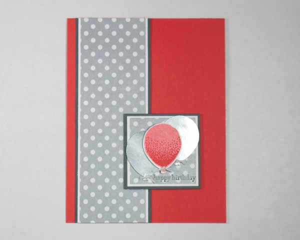 Stampin' Up! products used for Card Candy Swap